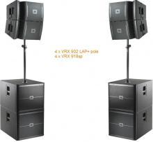 VRX set 2 6400W Powered